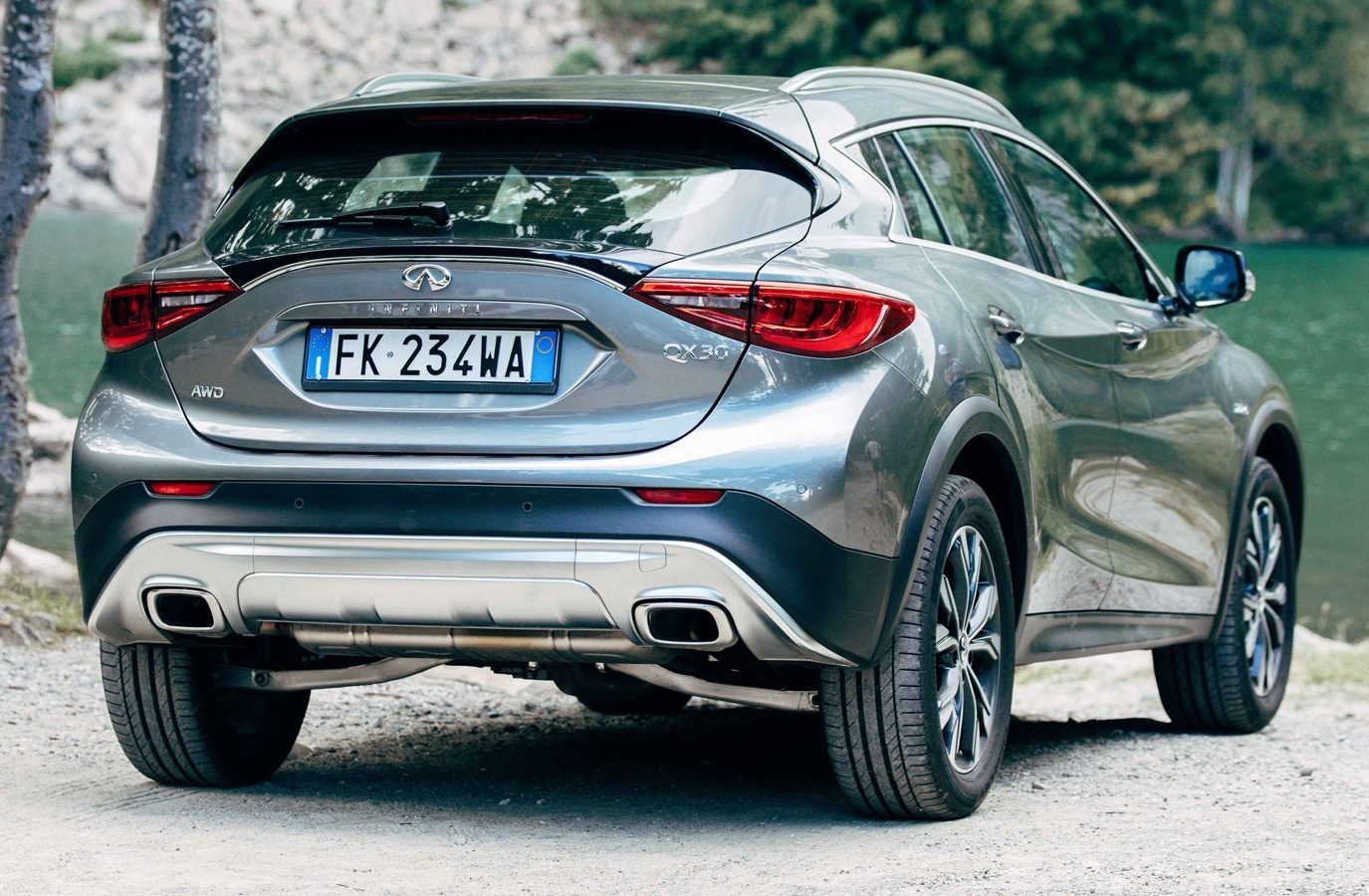 QX30 The Drive to Become Adventurous