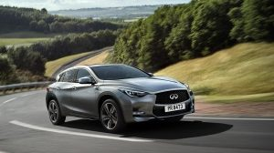 Performances du crossover INFINITI Q30 2018