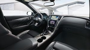 2019 INFINITI Q50 Connectivity and INFINITI InTouch