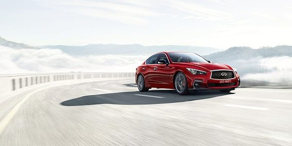 2018 INFINITI Q50 Red Sport Sedan Performance | Perfect In Balance Handling