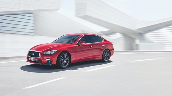 2018 INFINITI Q50 Red Sport Sedan Performance | On Road