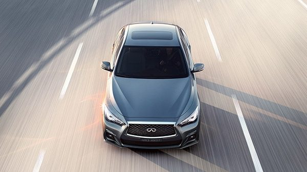 2018 INFINITI Q50 Red Sport Sedan Safety | Autonomous Drive Technologies