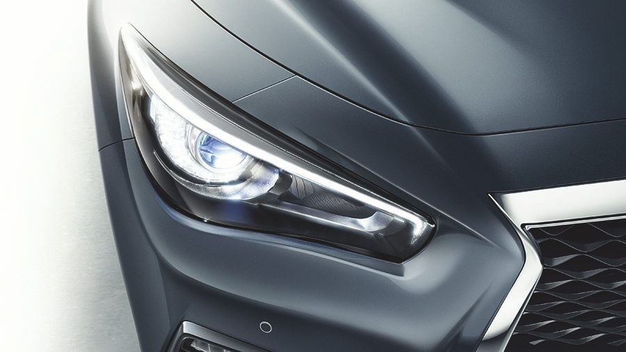 2018 INFINITI Q50 Red Sport Sedan Safety | Adaptive Front Lighting