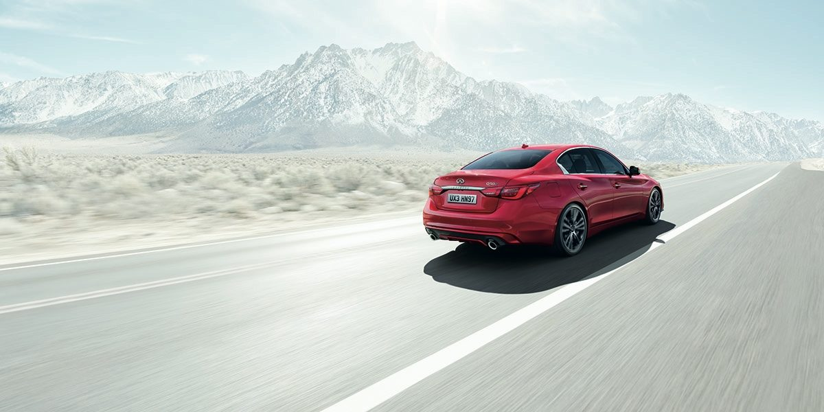 2018 INFINITI Q50 Red Sport Sedan Safety | IIHS Top Safety Pick Award