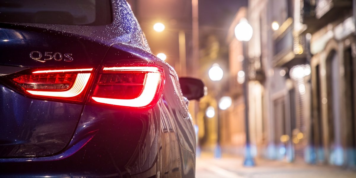 2019 INFINITI Q50 Blue Sport Design Gallery | LED Taillights