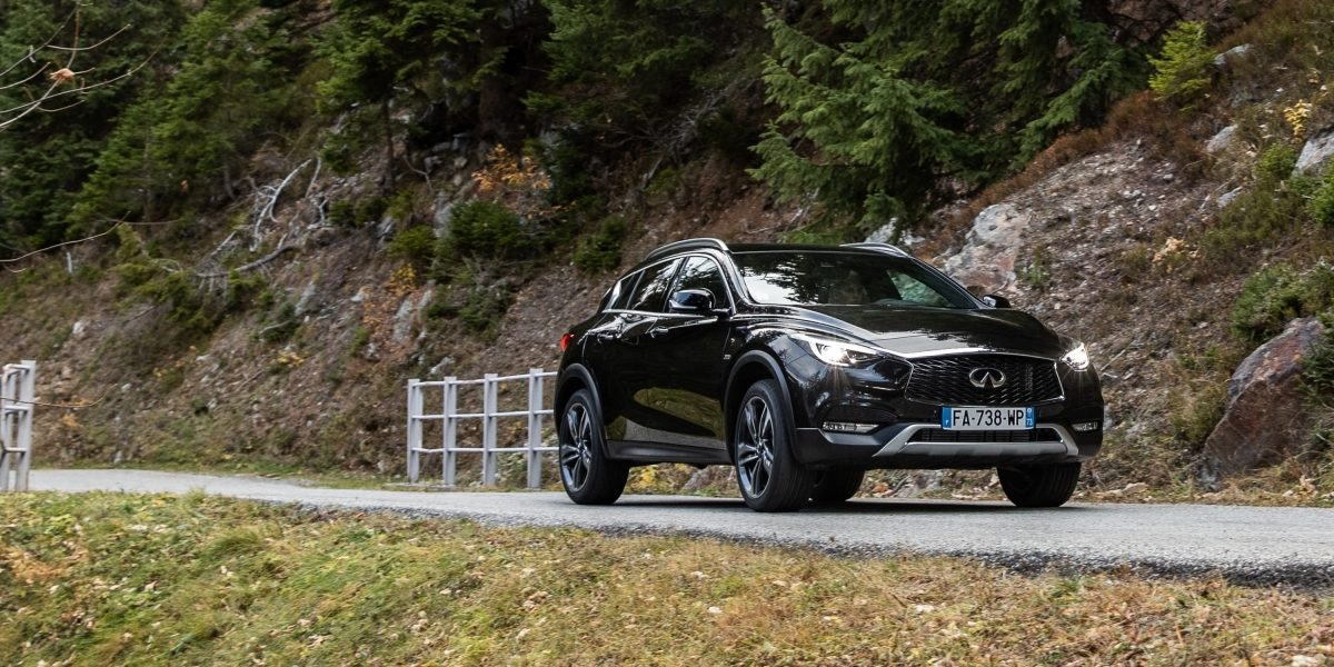 2018 INFINITI QX30 Premium Crossover Safety Features