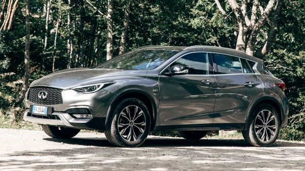 2018 INFINITI QX30 Premium Crossover Ride Height