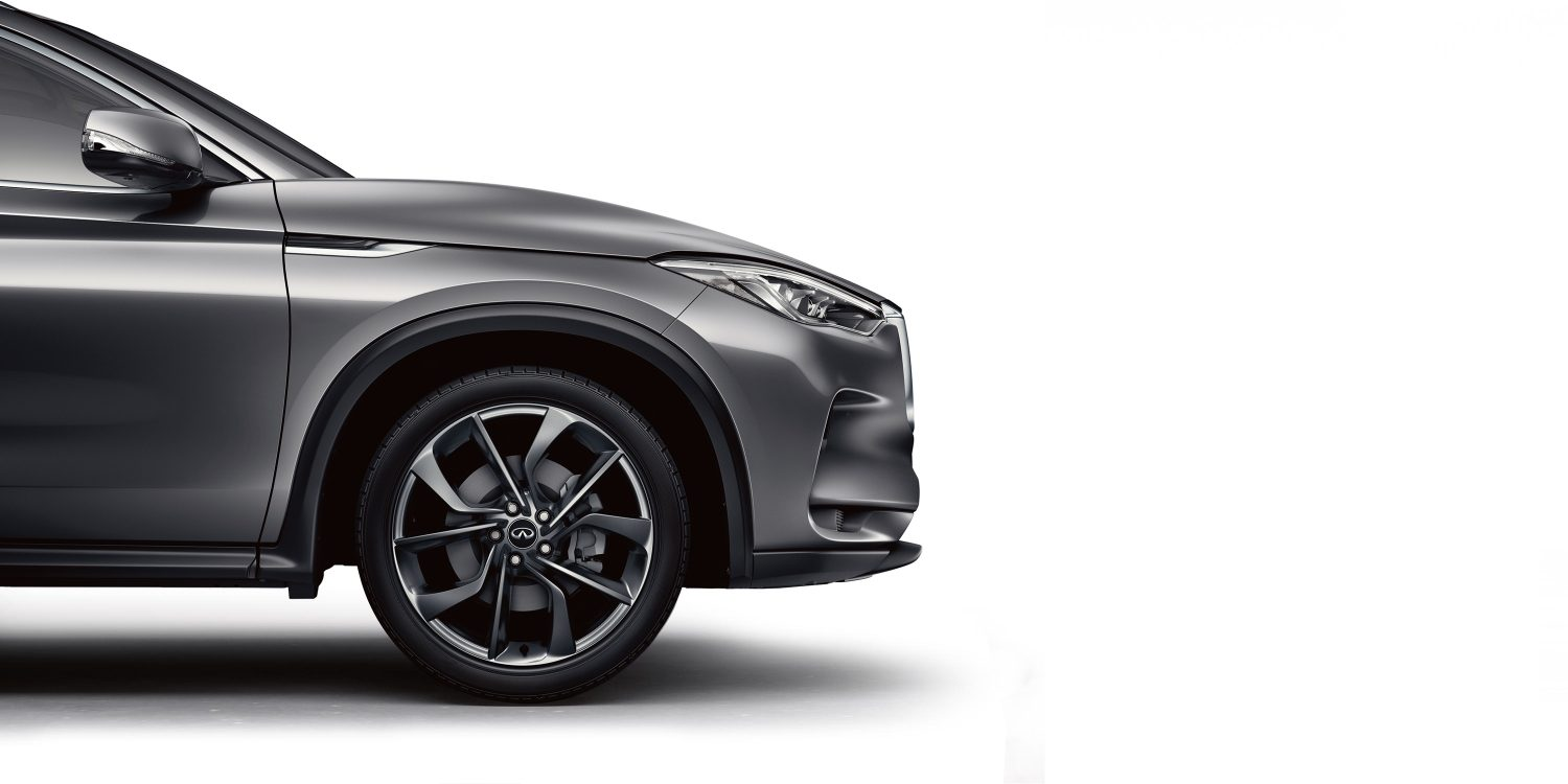 2019 INFINITI QX50 Side Profile and Exterior Details