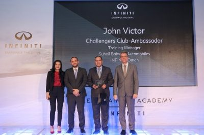 Infiniti Oman scores big at Challengers Club event