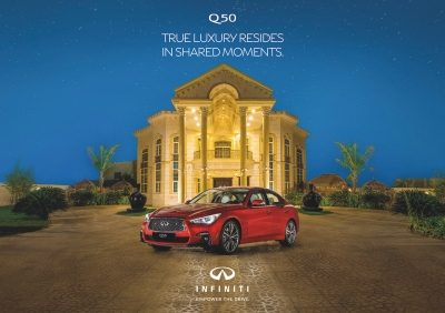 Time to grab your dream sedan INFINITI Q50 this Ramadan