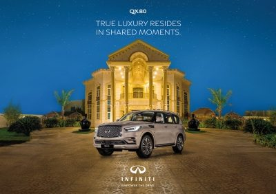 Enjoy special Ramadan offer on full-size luxury SUV INFINITI QX80