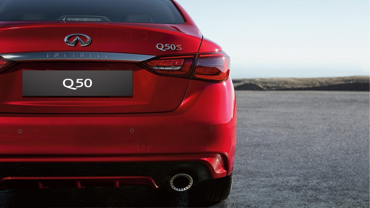 2018 INFINITI Q50 Red Sport Sedan Design Gallery | LED Taillights