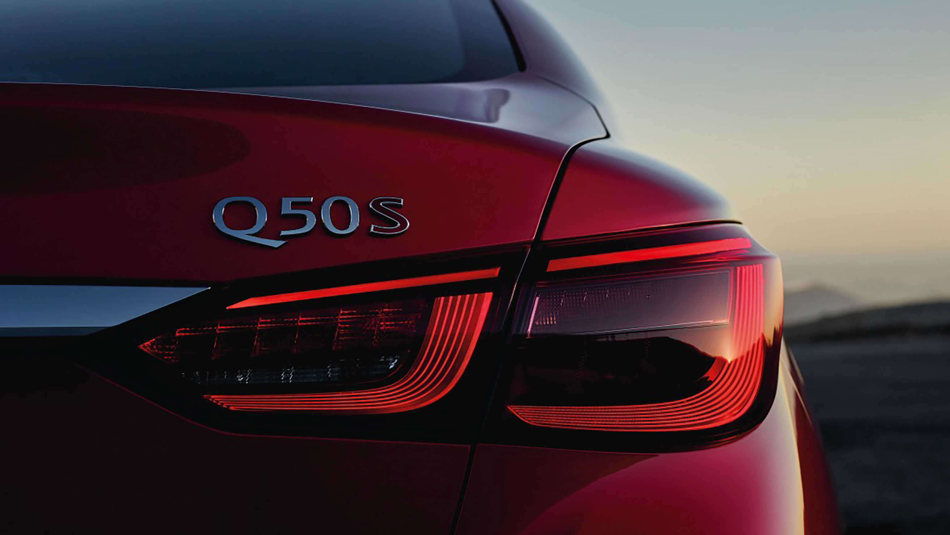 Q50, with direct response hybrid system