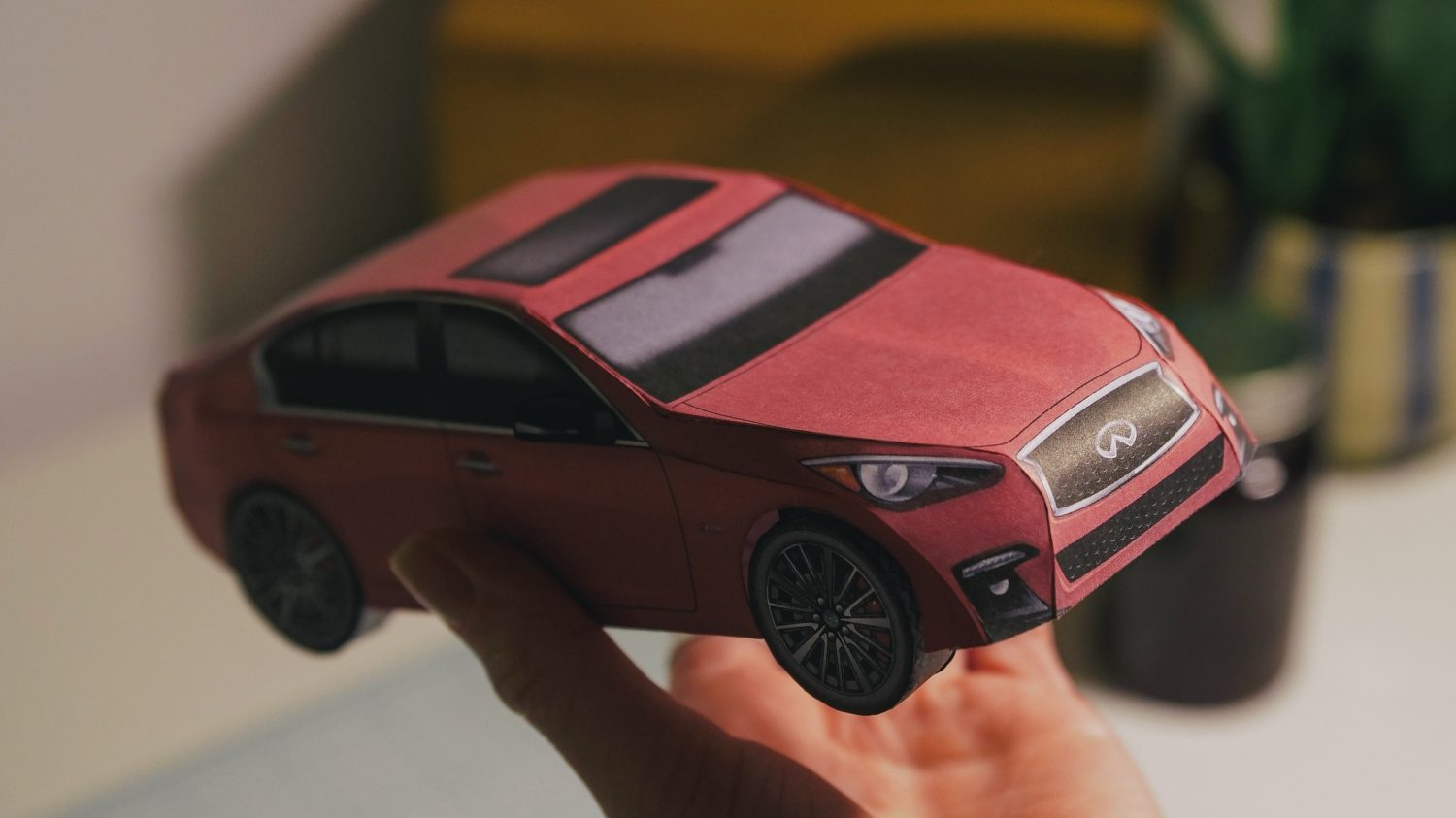 Origami Car 2020 INFINITI Q50S Sedan Vehicle