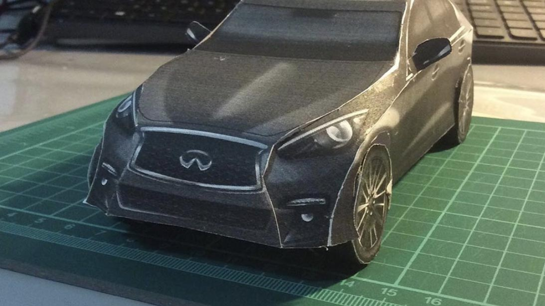 2020 INFINITI Carigami Instagram User Assembled Q50 Front