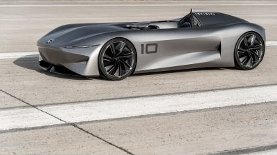 Infiniti Prototype 10 Concept Car Instant Power Inspired By Electric Powertrain