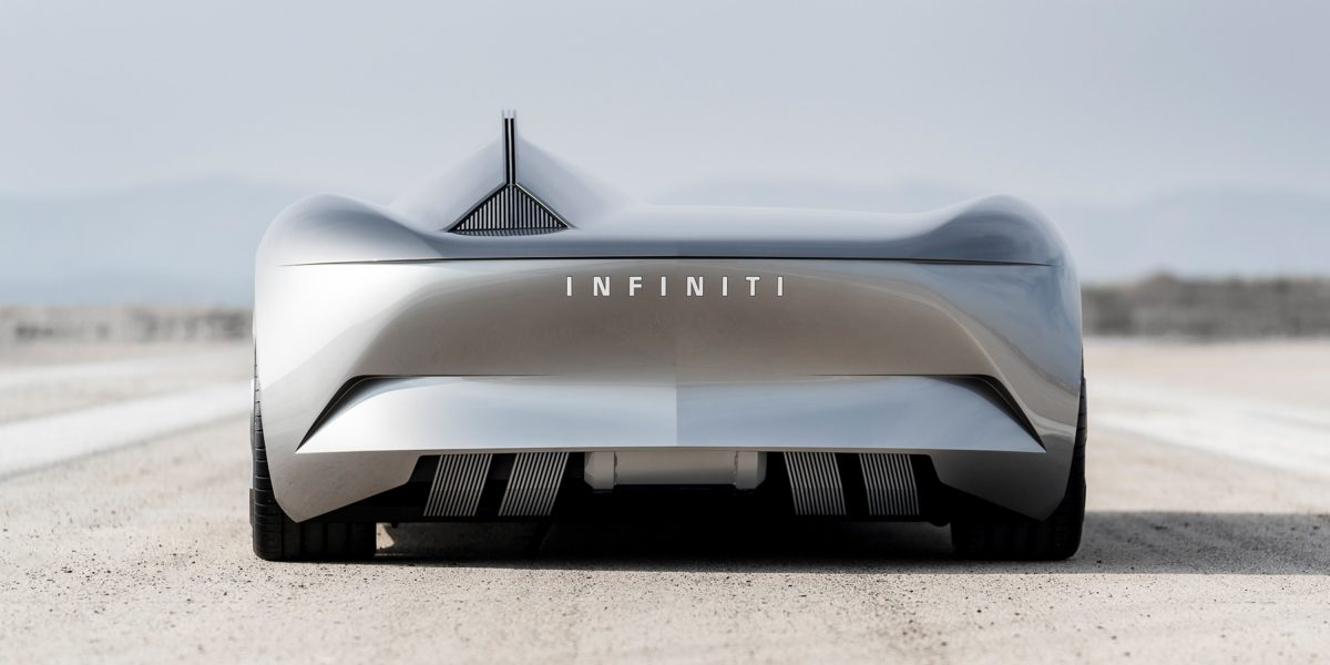 Infiniti Prototype 10 Concept Car Skyward Facing Surfaces
