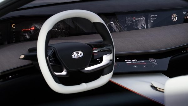 INFINITI Q Inspiration Sedan Steering Wheel