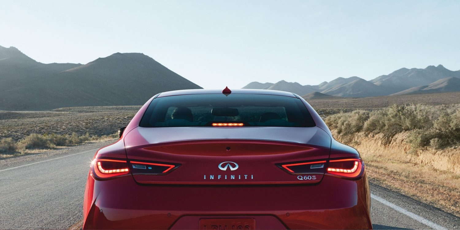 2018 INFINITI Q60 Red Sport 400 Sports Coupe Design Gallery | High Mounted Rear Stoplight