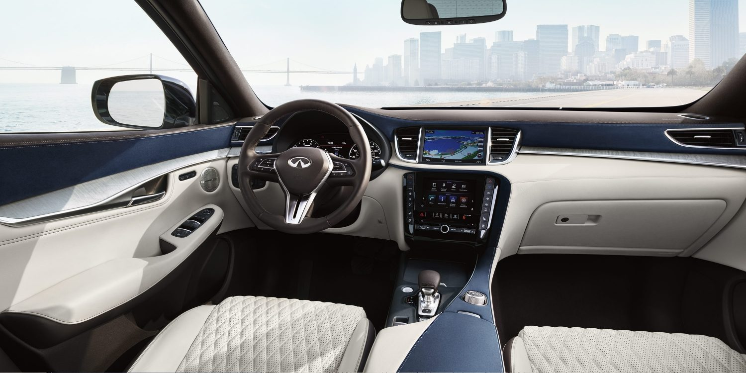 2019 INFINITI QX50 Hand-Tailored Interior