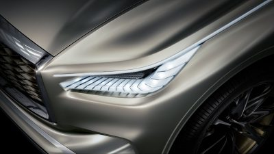 INFINITI QX80 Monograph Luxury SUV Concept's LED Headlamps