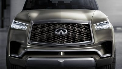 INFINITI QX80 Monograph Luxury SUV Concept's Double-Arch Grille