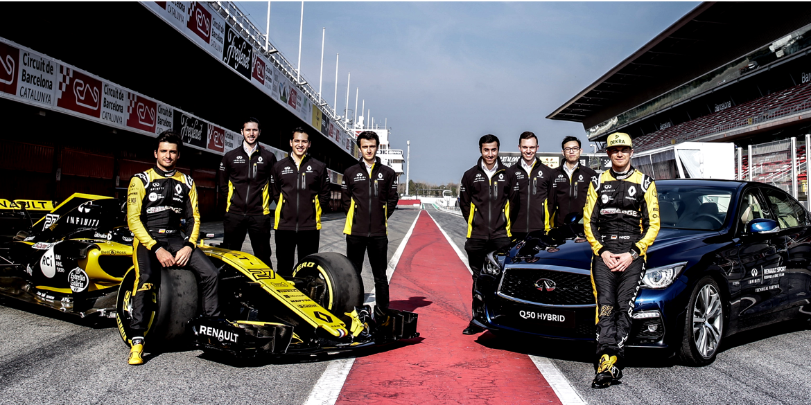 Integrazione Formula 1 INFINITI Engineering Academy