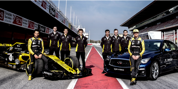 Renault R.S.17 Renault Sport F1 Engineers at Work