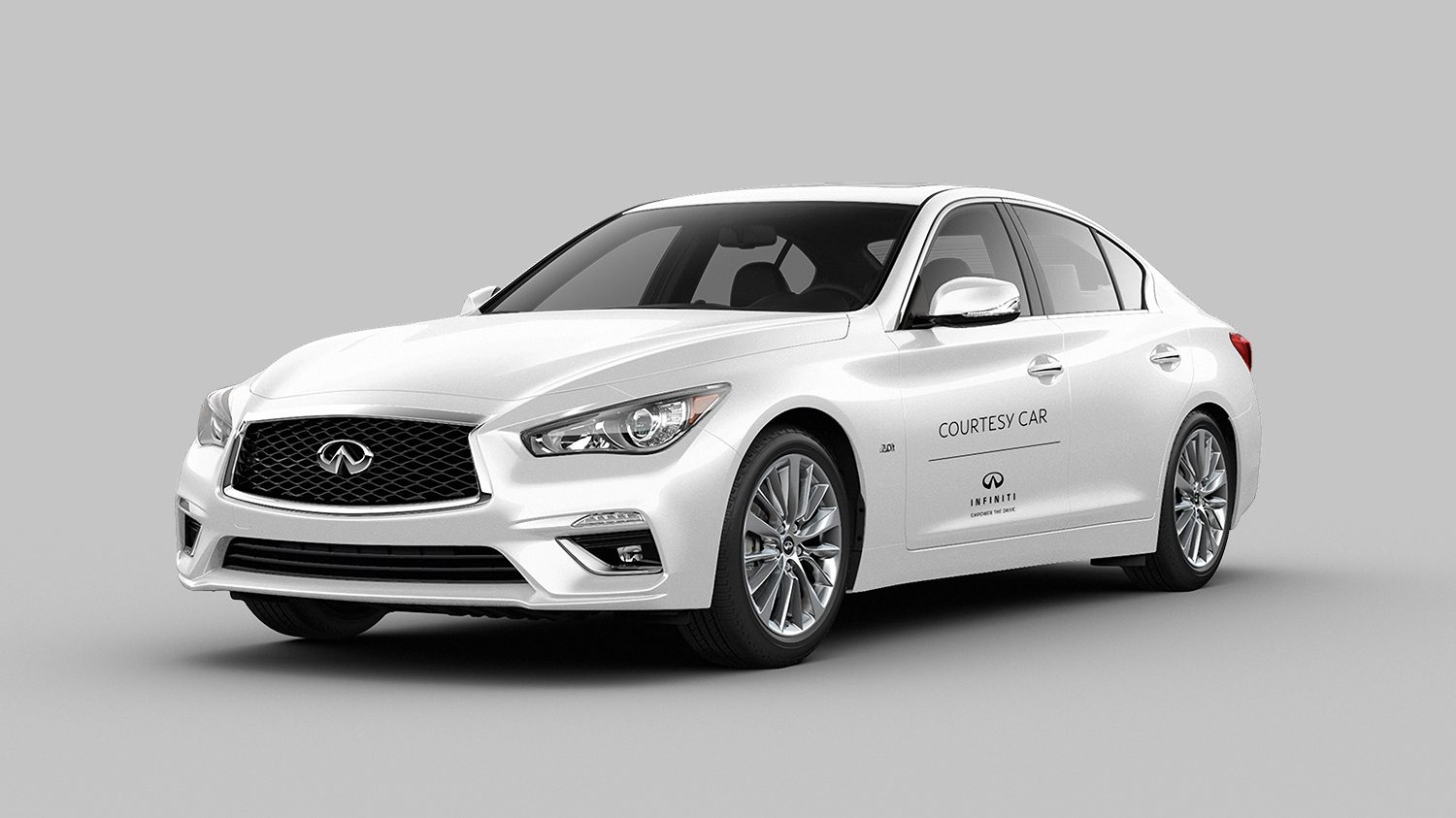 INFINITI COURTESY VEHICLE