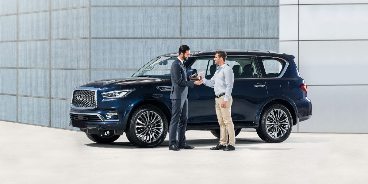 VEHICLE COLLECTION AND RETURN - QX80
