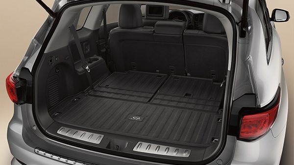 Cargo Area Protector with Flip-up Function