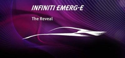 DETAILS EMERGE ON INFINITI'S ADVANCED SPORTS CAR CONCEPT