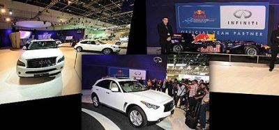 Infiniti at the Dubai International Motor Show
