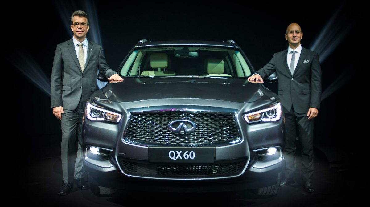 Infiniti Middle East together with Arabian