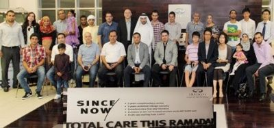 Lucky Infiniti customers collect Ramadan