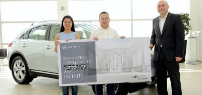 First family to win back full value of their car purchase with Infiniti of Arabian Automobiles Company