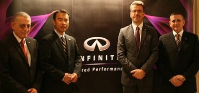 BUSTAMI & SAHEB TRADING CO. LAUNCHES INFINITI IN JORDAN
