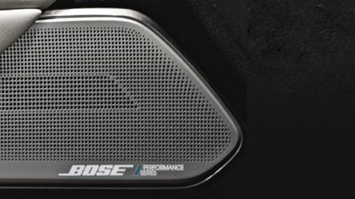 Bose speaker in sports car