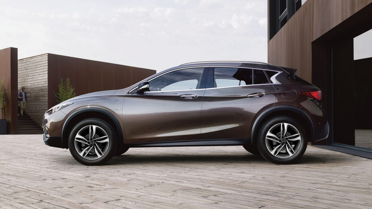 2018 INFINITI QX30 Crossover Ride Height