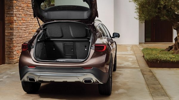 2018 INFINITI QX30 Premium Crossover Trunk Space
