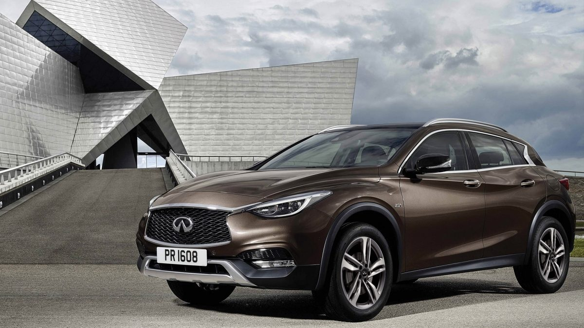 2020 INFINITI QX30 Premium Crossover Ride Height
