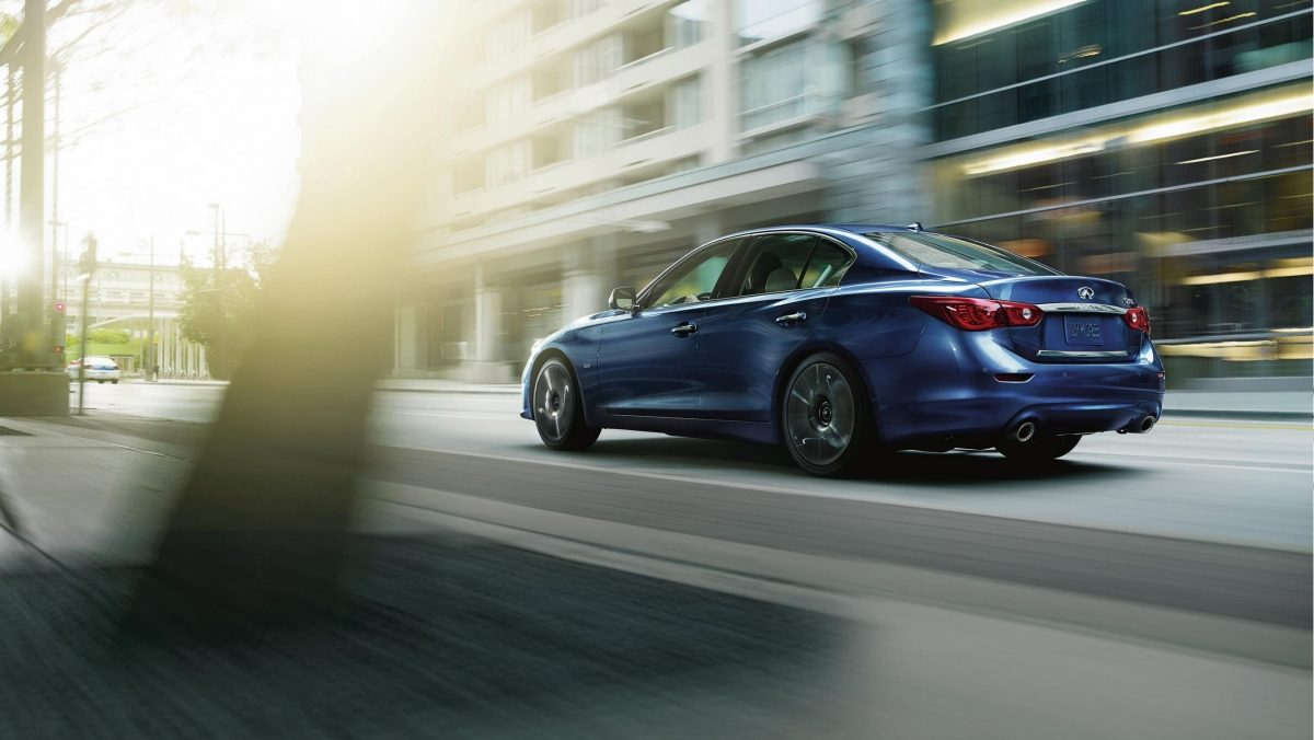 INFINITI Q50 - Predictive Forward Collision Warning