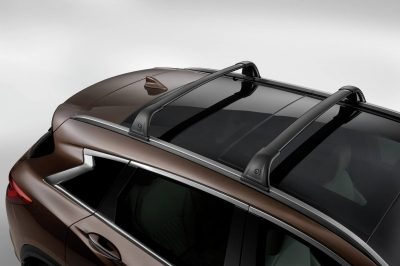 Roof Rail Crossbars (Black)