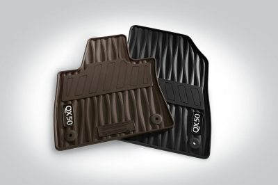 All-season Floor Mats (Black or Brown)