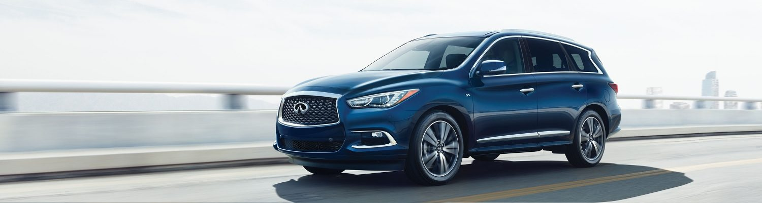 2018 INFINITI QX60 Luxury Crossover on mountain road