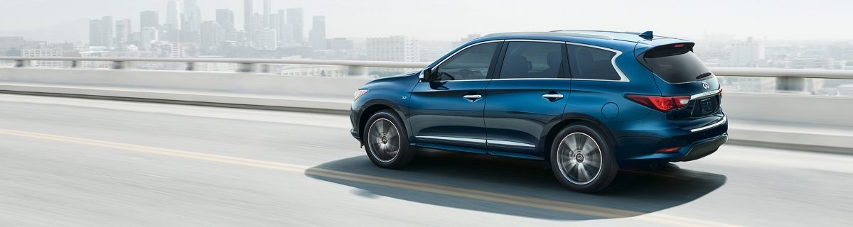 2018 INFINITI QX60 Luxury Crossover on city road