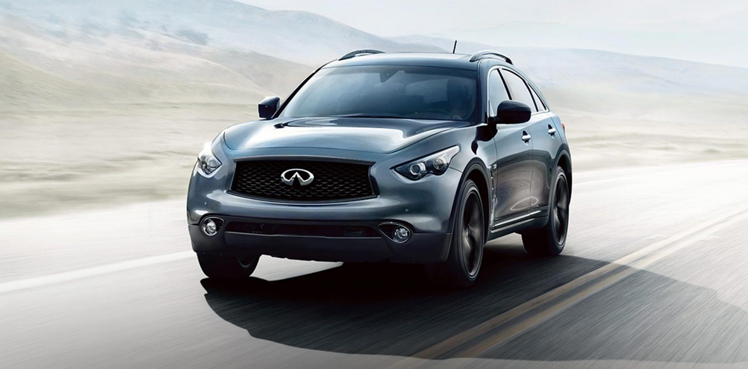 QX70. Designed to Empower.