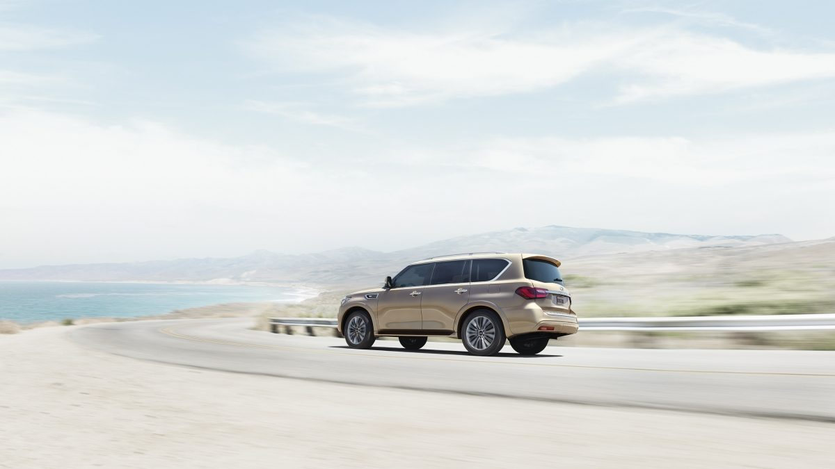 2018 INFINITI QX80 SUV Rear Shot