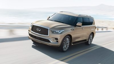 2018 INFINITI QX80 SUV Performance | All Mode Four Wheel Drive (4WD)