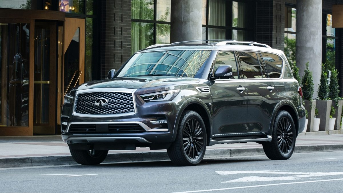 2019 INFINITI QX80 Limited SUV with Exclusive Color